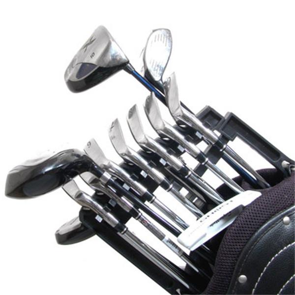 Clube de ferro Shafts Golf Holder Empilhador Qualquer Tamanho de Sacos Organizador de Alta Capacidade Titulares Golfs Acessórios de Ajuda 18gk dd