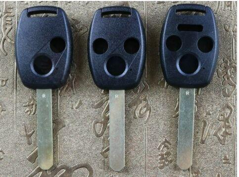 For Honda remote control Key shell 2 button /3 button /4 button Replacement & For accord CRV civic models straight key shell