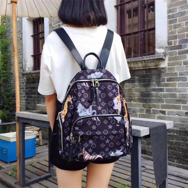 7499 Free Shipping 2018 Hot New Arrival Fashion Women School Bags Hot Punk Style Men Backpack Designer Backpack PU Leather Lady Bags
