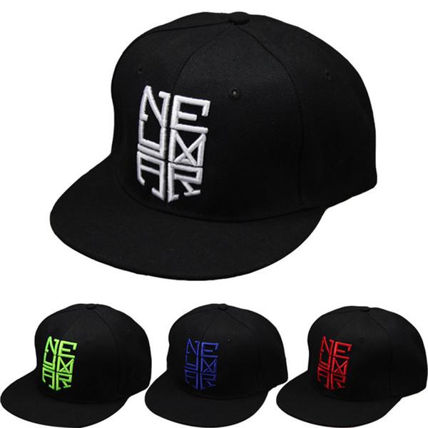 4 Couleurs 2018 Neymar JR njr Brésil Brésil Casquettes de baseball hip hop Sports Snapback chapeau chapeau chapeu de sol os masculino Hommes Femmes