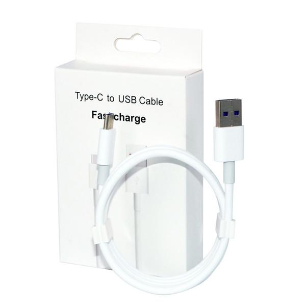 2A 3A Cargador rápido Tipo-C Cables Micro USB Línea de datos 80 cobre Para Xiaomi Huawei P20 P30 Pro Samsung S8 S9 S10 Celular