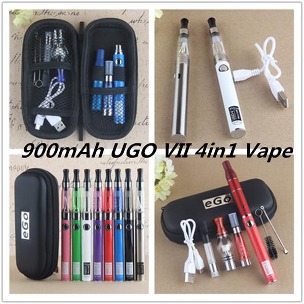 900mAh UGO-VII 4in1 Vape Pen