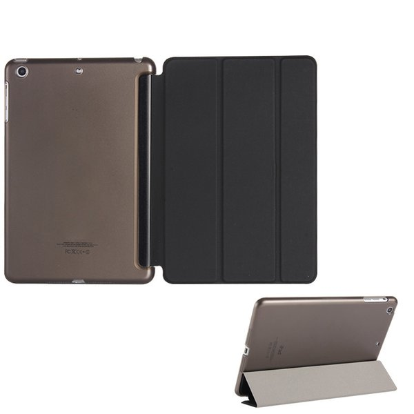 New Smart Case Cover PU Leather Hard Back Magnetic Cover with Sleep Wake For ipad air Pro 9.7 10.5 PCC076