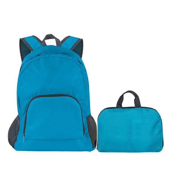 top popular Waterproof backpack folding shoulder pack Backpack 2019