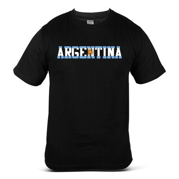 World cup 2018 Argentina Football Streetwear Soccer Top Jessy Mens Tee T-Shirt