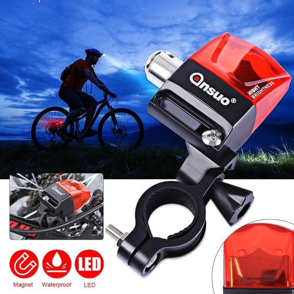 Super brillant étanche DEL MTB Vélo Bicyclette Arrière Queue Lumière Lampe Rouge