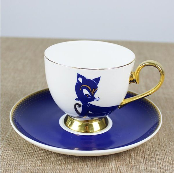 Luxury Drinkware 3 pcs European Ceramic Tea Set Porcelain coffee set Coffee Pot Coffee Jug Cup Saucer set CT0120