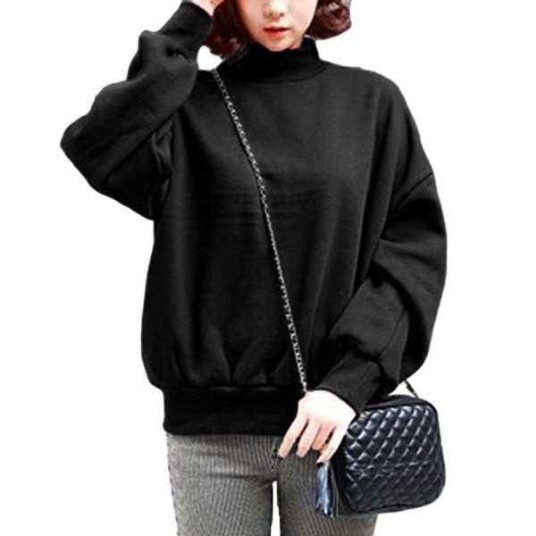 2018 Fashion Women Sweatshirt Long Sleeve Hoodies Autumn Winter Hot Cheap Clothing Casual Pullovers Sweatshirts