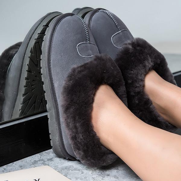 Snowshoe kadınlar kış sürümü artı polar öğrencileri yün beanie ayakkabı kısa çizmeler ayakkabı pamuk ayakkabı
