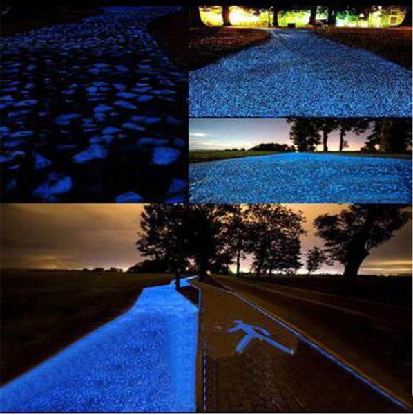 Acheter En Gros Pierre Lumineuse Sable Trottoir Jardin Routes Décorations  Fluorescent Gravier Sable Lumineux Gravier Lumineux DHL Livraison Gratuite  ...