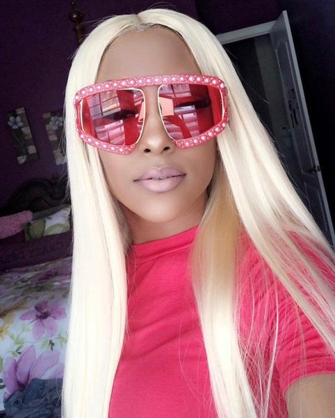 613 Blonde Lace Front Human Hair Wigs For White Women Straight Brazilian Virgin Hair Glueless Full Lace Wigs With Baby Hair
