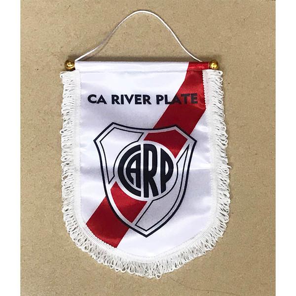 Compre Bandeira Da Argentina Club Atlético River Plate Entrega Bandeira 30 Cm 20 Cm Tamanho Decoração Bandeira Bandeira Para Casa Jardim Festivo De