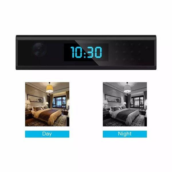 HD 1080 P WiFi Duvar Saati Kamera Suppert Döngü Kayıt / Hareket Algılama / Uzaktan Görünüm / Küresel Izleme, iOS / Android /