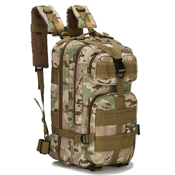 Camouflag Backpack Molle  Molle Rucksack Assault Bag SWAT Army Backpack Multi-pocket Design 35L Waterproof Bags