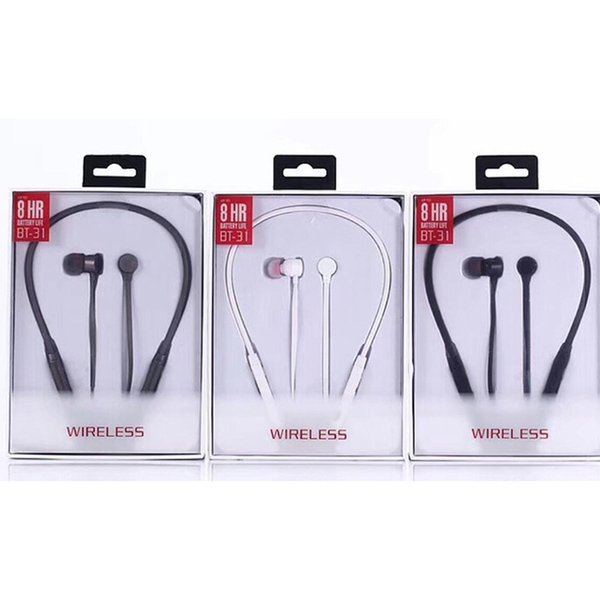 best selling hot sell bluetooth headphones wireless earphones BT-31 for sport headsets with retail package dhl free shiping