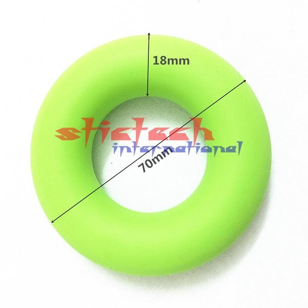 by dhl or ems 500pc Strength Finger Hand Grip Muscle Power Training Rubber Ring Exerciser Tool
