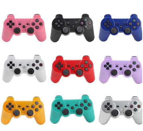 best selling Hot Bluetooth Wireless Controller Game Controller Joysticks For PS3 Available Real SixAxis No retail box DHL Free Shipping