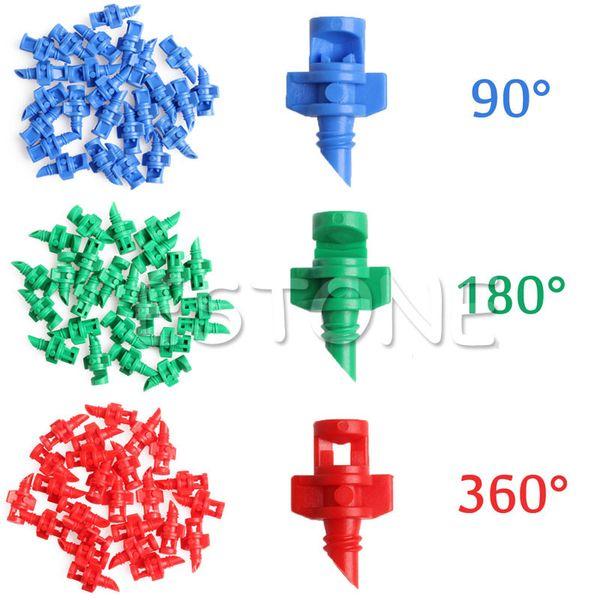 25Pcs Sprayer Nozzle Jet Mister Cloning Machine Hydroponic 90C/180C/360C