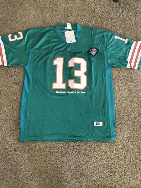 Camiseta personalizada Dan Marino Football Jersey, personalizada y personalizada.