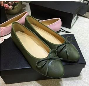 Newest PU Bowtie Quilted Women Driving Casual Ballet Flats Shoes xinfa180317022
