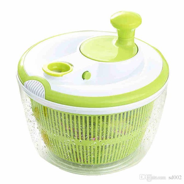 Eco Friendly Vegetable Salad Spinner Practical Kitchen Gadget For Furit Dehydrator Dryer Colander Basket Super High Quality 29 8jd ZZ