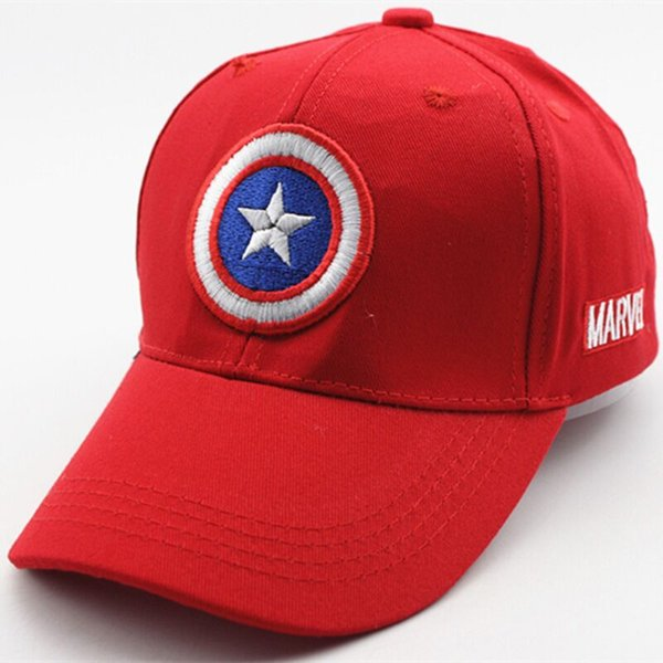 New Kids Baseball Cap Fashion Captain America Adjustable Boys Girls Snapback Caps Casquette Gorras For 3-8 Years