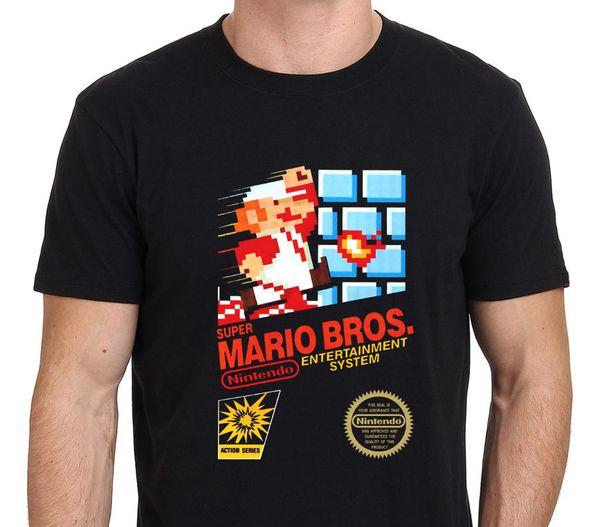 Super Mario Brothers Retro NES Spiel T-Shirt