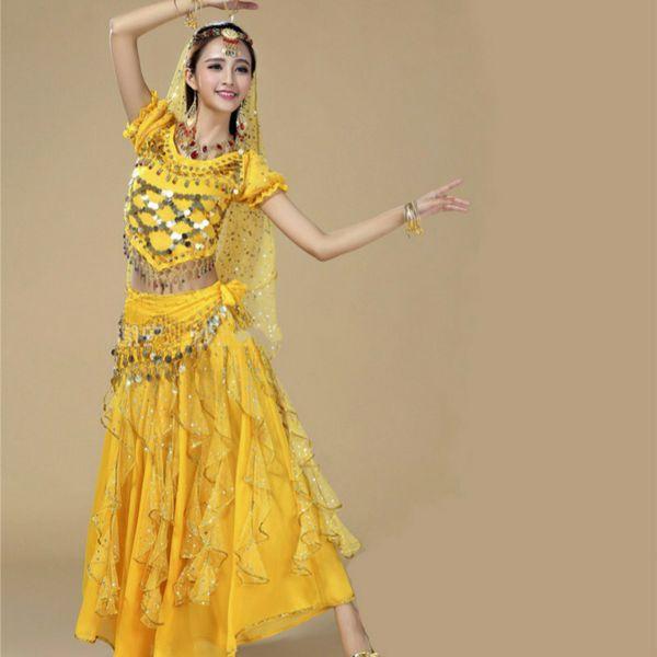 8c6315b629c egyptian belly dance costume set bra belt skirt bellydance professional  oriental indian bollywood costumes plus size