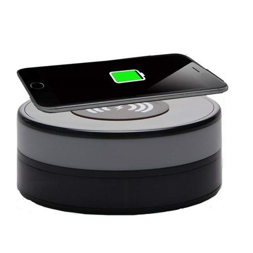 1080P HD WiFi Wireless Charger Pad Mini DV Nanny Camera Security Video Recorder With Smart Wireless Charger Function