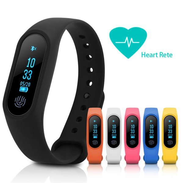 M2 Fitness tracker Watch Smart Band Heart Rate Monitor Activity Tracker Waterproof Smart Bracelet Pedometer Health Wristband With Box