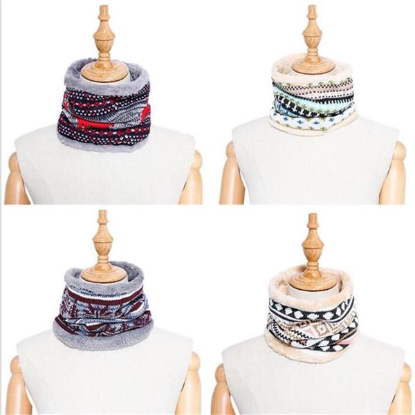 La sciarpa di colletto di svago solido d'inverno di modo imitazione cashmere tiene sciarpa calda