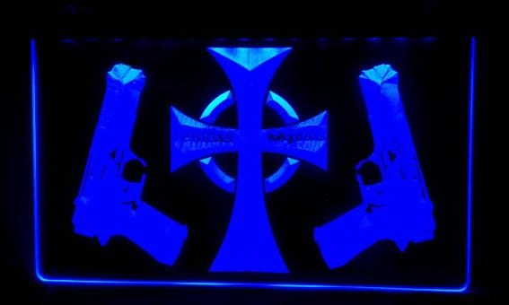 LS494-b Boondock Saints Neon Light Sign Decor Free Shipping Dropshipping Wholesale 8 colors to choose
