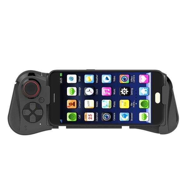 058 game pad sem fio bluetooth joystick gaming gamepad vr controlador telescópico para o iphone joystick joystick controlador joystick móvel pgb
