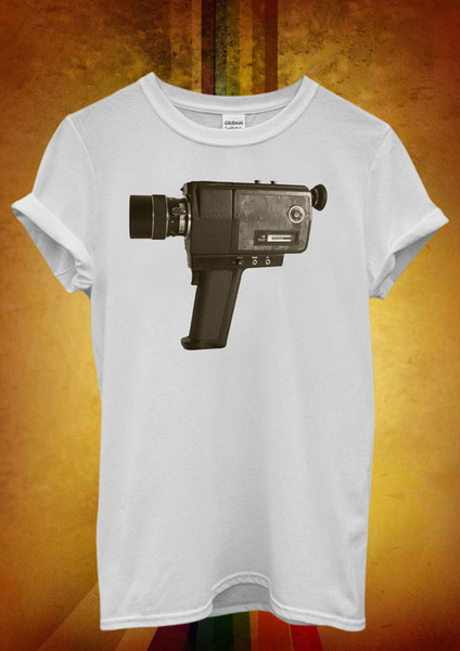 Super 8 mm Vintage Retro Kamera Coole Männer Frauen Unisex T-Shirt Tank Top Weste 829 Jacke kroatien Leder Tshirt