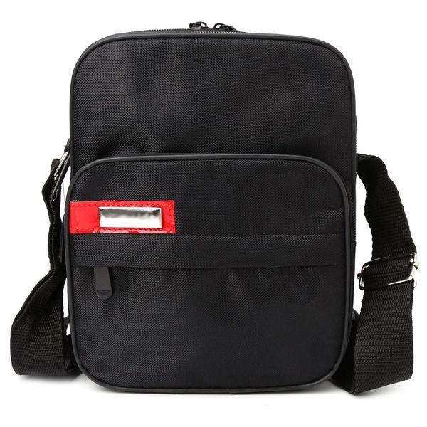 THINKTHENDO Men's Backpacks Male Travel Casual Business Messenger Shoulder Bag Crossbody Black Nylon Zip Bags