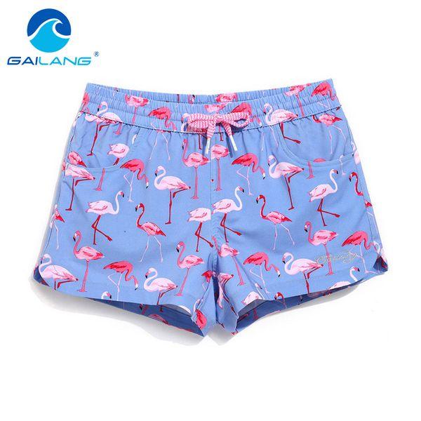 Atacado-Gailang marca calções de mulher BoardShorts Board Boarders troncos casuais Swimwear maiôs Slim Fit Lady Mini moda Boxer curto