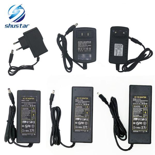 Alimentatore switching LED adattatore 110-240 V AC DC 12V 2A 3A 4A 5A 6A 7A 8A 10A 12.5A Led Strip light 5050 3528 adattatore trasformatore di illuminazione