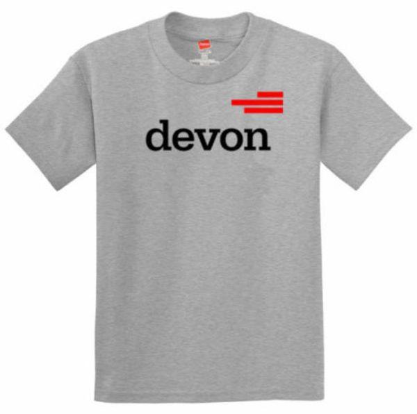 Devon Energy natural gas t-shirtFunny free shipping Unisex tee