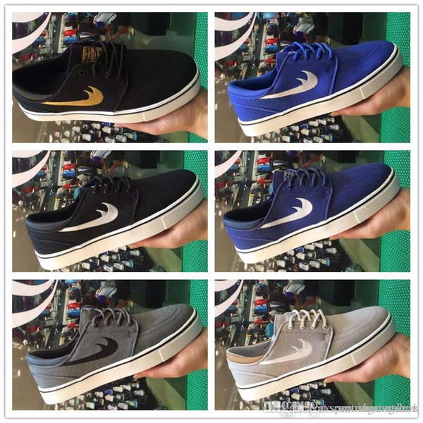 2018 New SB Stefan Janoski Shoes Running Shoes For Women Men ,High Quality Athletic Sport Trainers Sneakers Shoe Maxes Size Eur 40-45