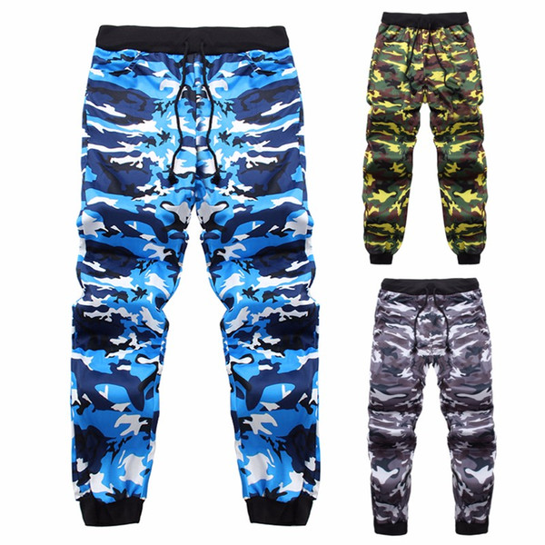 Men Camouflage Pants 2018 Brand Clothing Mens Sportswear Track Pants Casual Baggy Camo Joggers Long Sweatpants Tracksuit Bottoms