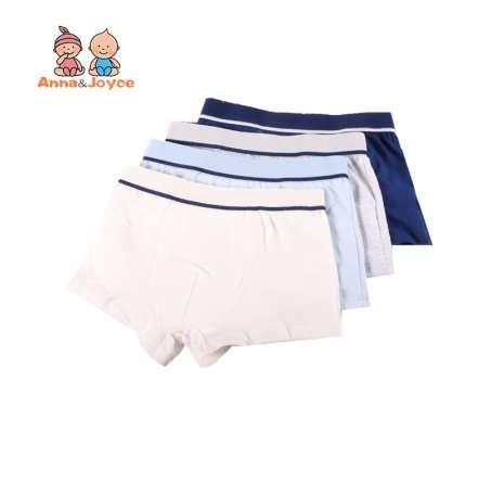 1 Pcs/Lot Boys Underwear Pure Color Kids Shorts Panties Cotton Baby Children Boxer for Teenager Underpants 2-10Y