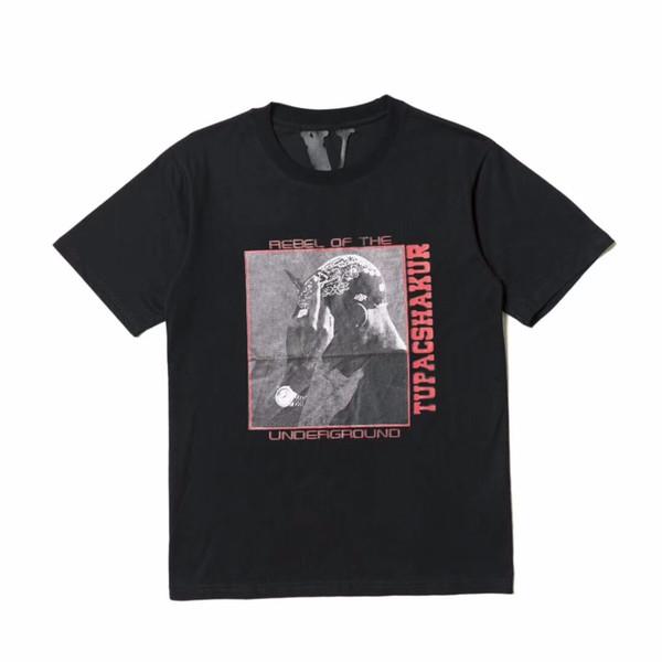 Vlone Spring New T-shirts Men Women High Quality Pop up Papking Fragment Top Tees Fashion T shirt Vlone T-shirts