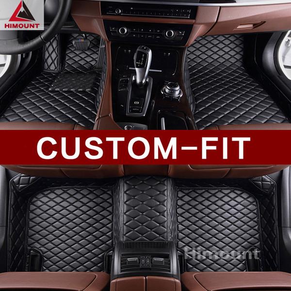 top popular custom made car floor mats specially for Range Rover sport Evoque discovery sport Velar all weather carpet rugs 2019