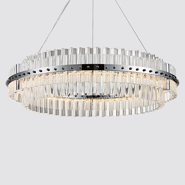 Post-modern luxury led lámpara de techo lámparas de cristal nuevo diseño elegante redondo creativo led luces colgantes restaurant club bar hotel