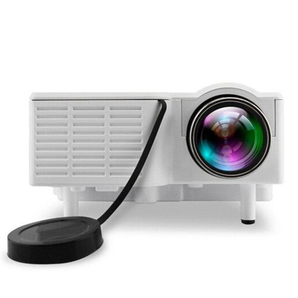 Best 2019 Mini Portable UC28B projector 500LM Home Theater Cinema Multimedia LED Video Projector Support USB TF Card