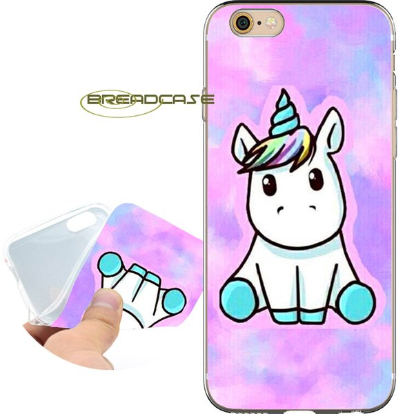 Coque Lovely Unicorn Cases для iPhone 10 X 7 8 6S 6 Plus 5S 5 SE 5C 4S 4 iPod Touch 6 5 Clear Soft TPU Силиконовая крышка.