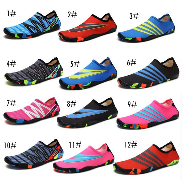 17colors lover Diving Beach Mesh Shoes Non-slip Barefoot Water Sports Skin Shoes Aqua Socks Adults Kids Swimming Surfing Yoga Exercise shoes