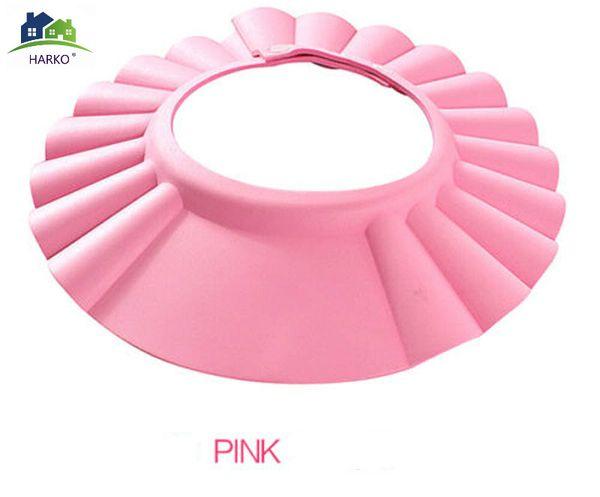 Adjustable Baby Shower Cap Protect Shampoo New Kids Bath Visor Hat Hair Wash Shield for Children Infant Waterproof Cap