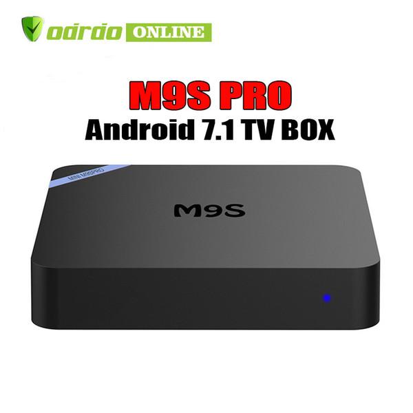 Factory Sale New M9S PRO 4K Smart Android 7.1 TV Box Rockchip RK3229 Quad Core Google Set Top Box Media Player BETTER MXQ PRO TX3 X96 MINI