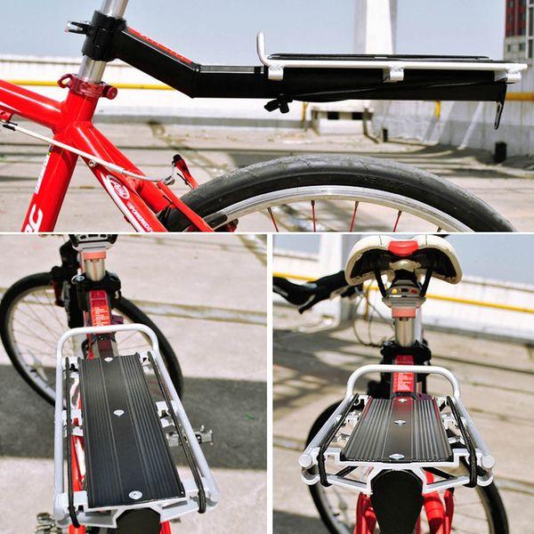 H13826 Vélo Porte-Vélos Porte-Rack Siège Après Étagère Aluminium Alliage Rapide Retrait et Installation